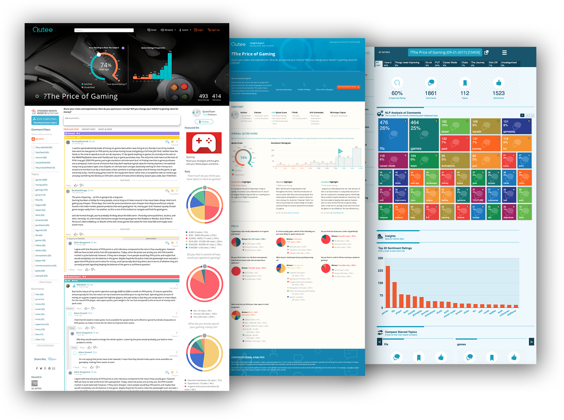 front page insights dashboard